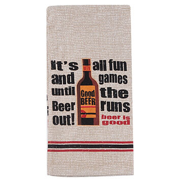 Kay Dee Designs Beer is Good Terry Kitchen Towel