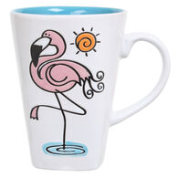 Cape Shore Maine Flamingo Cafe Mug