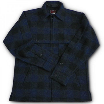 Johnson Woolen Mills Mens Double Cape Jac Shirt