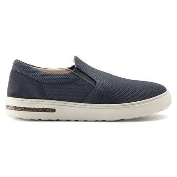 Birkenstock Womens Oswego Canvas/Suede Slip On Sneaker
