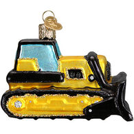 Old World Christmas Bulldozer Ornament