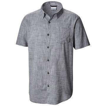 Columbia Mens Under Exposure Yarn-Dye Short-Sleeve Shirt