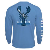 Salt Life Men's Lobster Quest Pocket Long-Sleeve T-Shirt