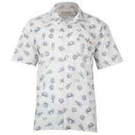 Salt Life Men's Seafest Woven Short-Sleeve Shirt