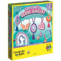 Faber-Castell Shrink Fun Geode Jewelry Set