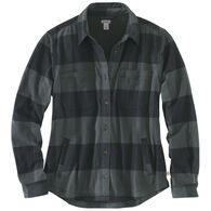 Carhartt Women's Rugged Flex Hamilton Fleece-Lined Long-Sleeve Shirt