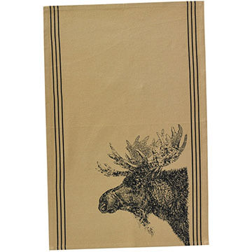 Park Designs Moose Printed Dish Towel