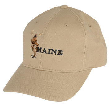W.S. Emerson Mens Cartoon Moose Hat