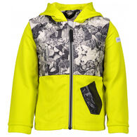 Obermeyer Boy's Hayden Hybrid Fleece Jacket