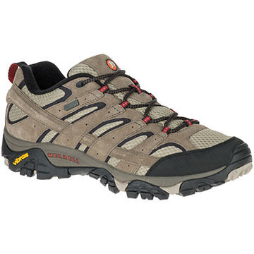 Merrell Mens Moab 2 Waterproof Low Hiking Shoe