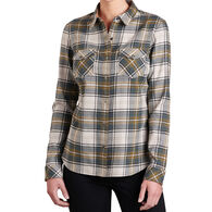 Kuhl Women's Tess Flannel Long-Sleeve Shirt