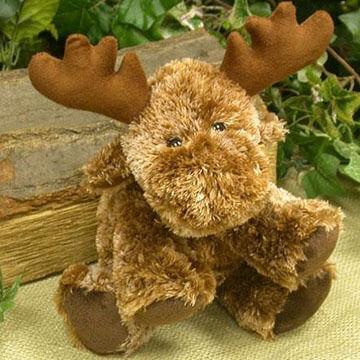 Wishpets 8 Stuffed Floppy Moose