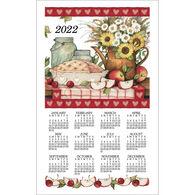 Kay Dee Designs 2022 Apple Pie Calendar Towel