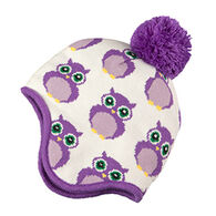 Broner Youth Owl Knit Pom Hat