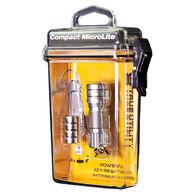 True Utility Compact MicroLite Key Ring Flashlight
