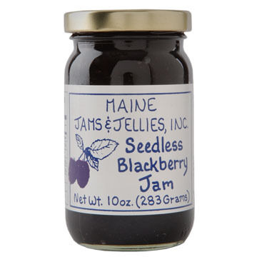 Maine Maple Seedless Blackberry Jam -10 oz.