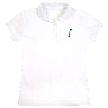 Girl Scouts Official Junior Shorthand Polo Short-Sleeve Shirt