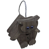 Brookside Woodworks Amish Handcrafted Owl Birdhouse
