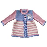Huggalugs Infant Girl's Unicorn Sweater