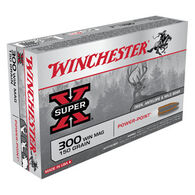 Winchester Super-X 300 Winchester Mag 150 Grain Power-Point Rifle Ammo (20)