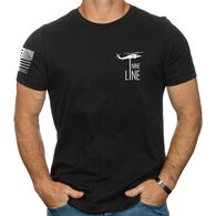 Nine Line Apparel Men's Thin Blue Line Short-Sleeve T-Shirt