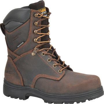 Carolina Shoe Mens 8 Waterproof Insulated Steel Toe Work Boot, 400g