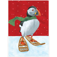 Allport Editions Puffin Snowshoes Boxed Holiday Cards