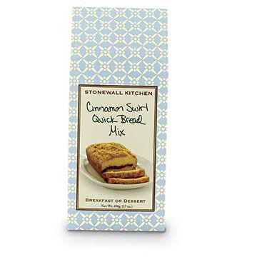 Stonewall Kitchen Cinnamon Swirl Quick Bread