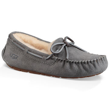 UGG Womens Dakota Metallic Lacing Slipper