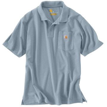 Carhartt Mens Contractors Work Pocket Polo Short-Sleeve Shirt