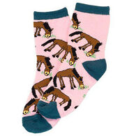 Lazy One Girls' Pasture Bedtime Sock