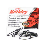 Berkley Cross-Lok Snap / Swivel - 4-5 Pk.