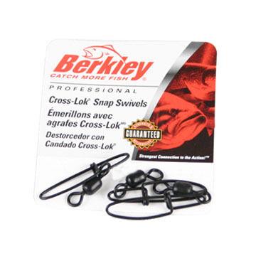 Berkley Cross-Lok Snap / Swivel - 4-5 Pk.