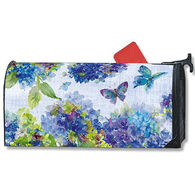 MailWraps Blue Hydrangea Magnetic Mailbox Cover