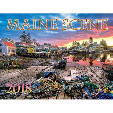 Maine Scene Maine Scene 2018 Wall Calendar