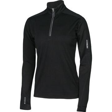 Karbon Womens Shift 1/4-Zip Turtleneck Pullover Shirt