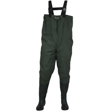 Compass360 Men's Oxbow 2-Ply Rubber Cleated Bootfoot Chest Wader