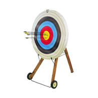Saunders Four Color Skirted Toughenized Target Face
