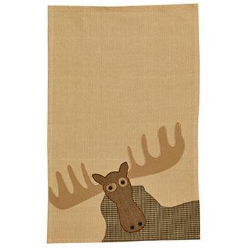 Park Designs Moose Applique Dish Towel