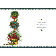 LPG Greetings Peggy Abrams Floral Boxed Christmas Cards