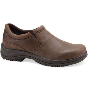 Dansko Men's Wynn Leather Double Gore Slip-On Shoe