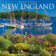 Willow Creek Press Beautiful New England 2021 Wall Calendar