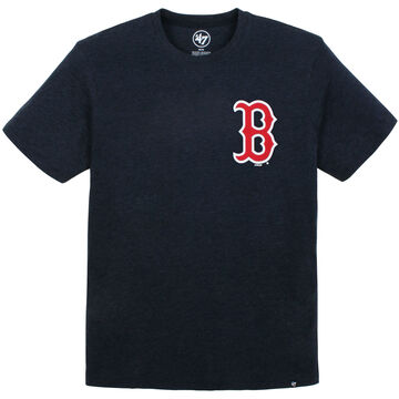 47 Brand Mens Boston Red Sox Front/Back Graphic Short-Sleeve T-Shirt