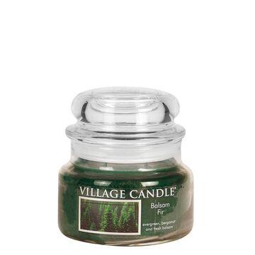 Village Candle Small Glass Jar Candle - Balsam Fir