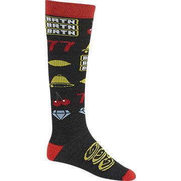 Burton Mens Super Party Snowboard Sock