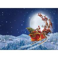 LPG Greetings Flying Santa Boxed Christmas Cards