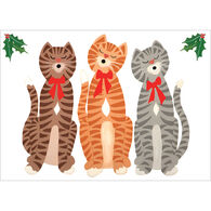 Allport Editions Caroling Cats Boxed Holiday Cards