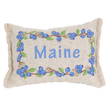 """Paine Products 5"""" x 4"""" Maine Blueberries Balsam Pillow"""