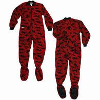 Lazy One Toddler Boys' & Girls' Classic Moose Footeez Pajamas