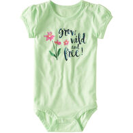 Carhartt Infant/Toddler Girls' Grow Wild & Free Bodysuit